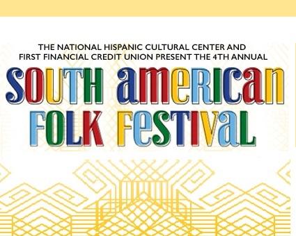4th Annual South American Folk Festival logo